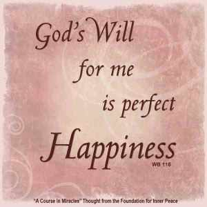 *Gods Will