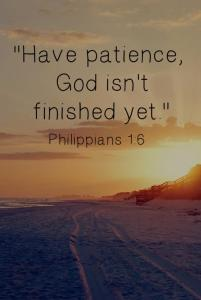 *Patience